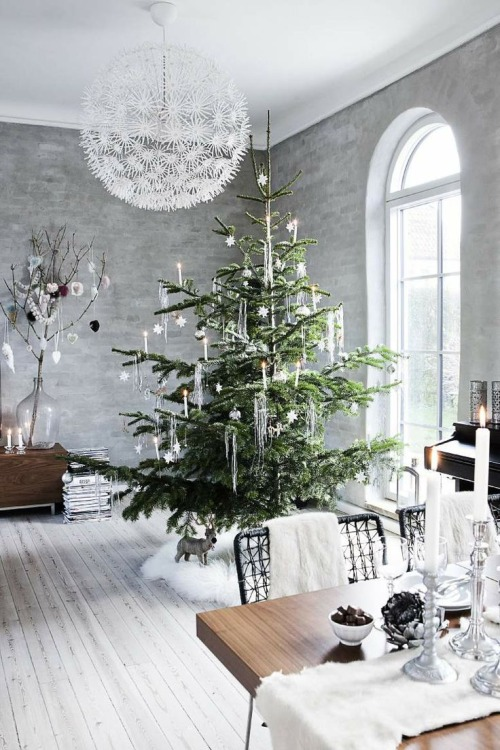 Christmas Living Room Decorations dwellingdecor (29)
