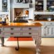 Elegant kitchen island dwellingdecor