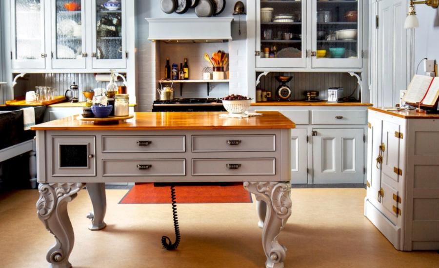 Elegant kitchen island dwellingdecor