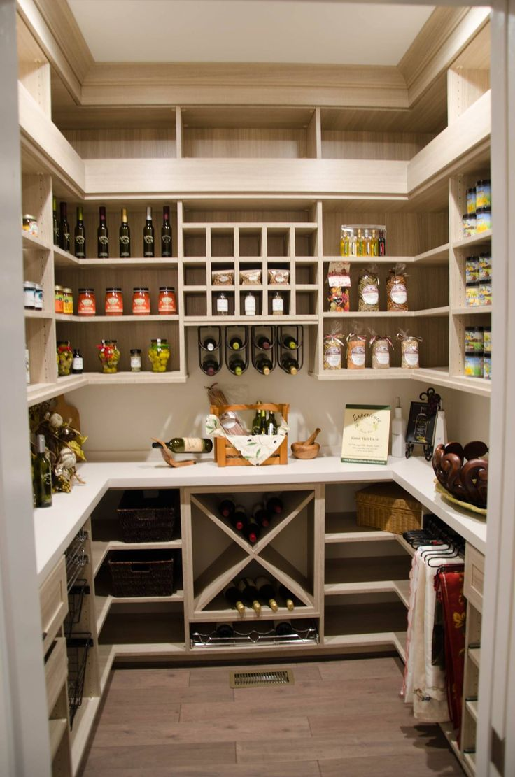 35 best kitchen pantry design ideas for Kitchen plans with island and pantry
