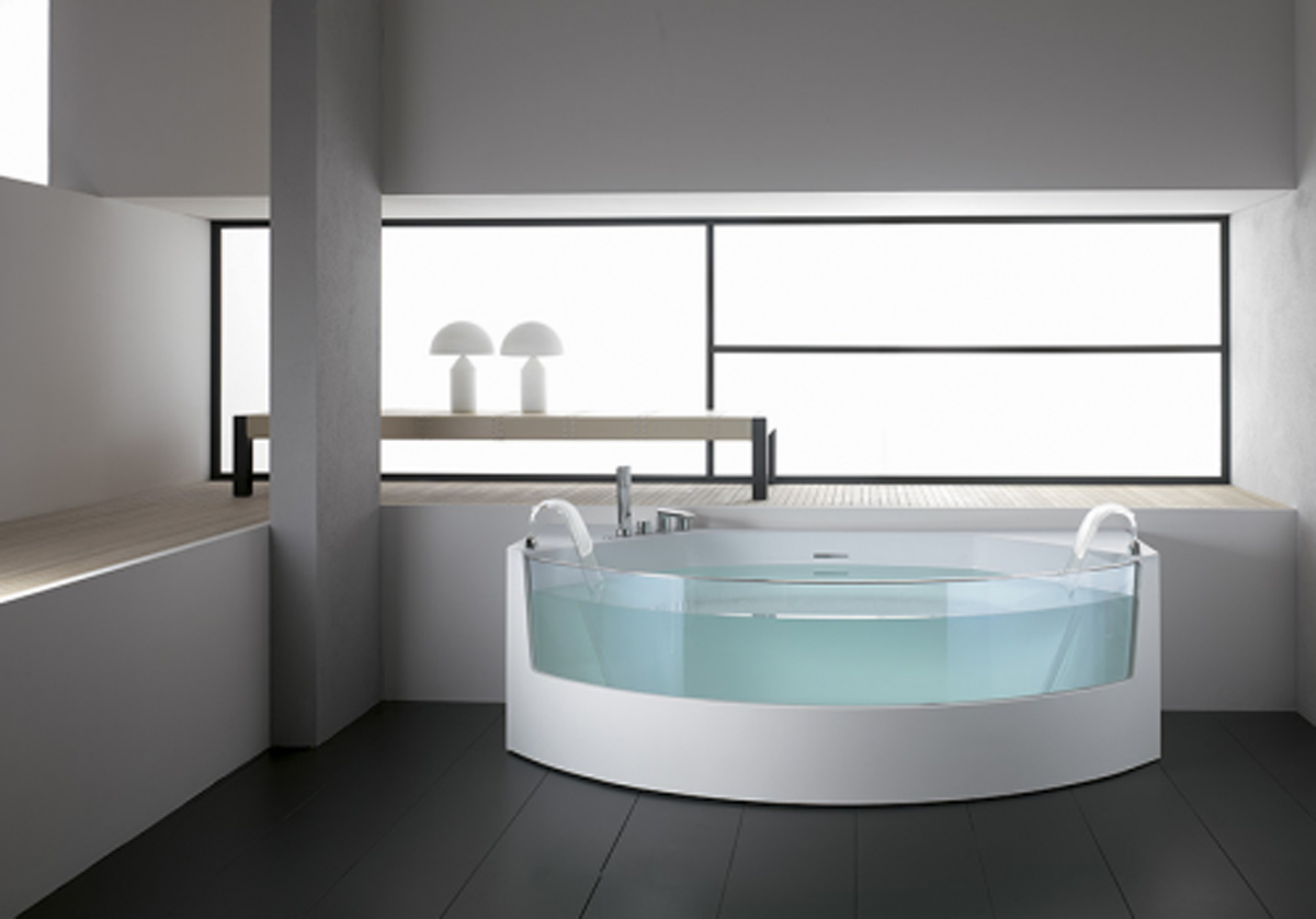 Modern Bathtub Design Ideas dwellingdecor