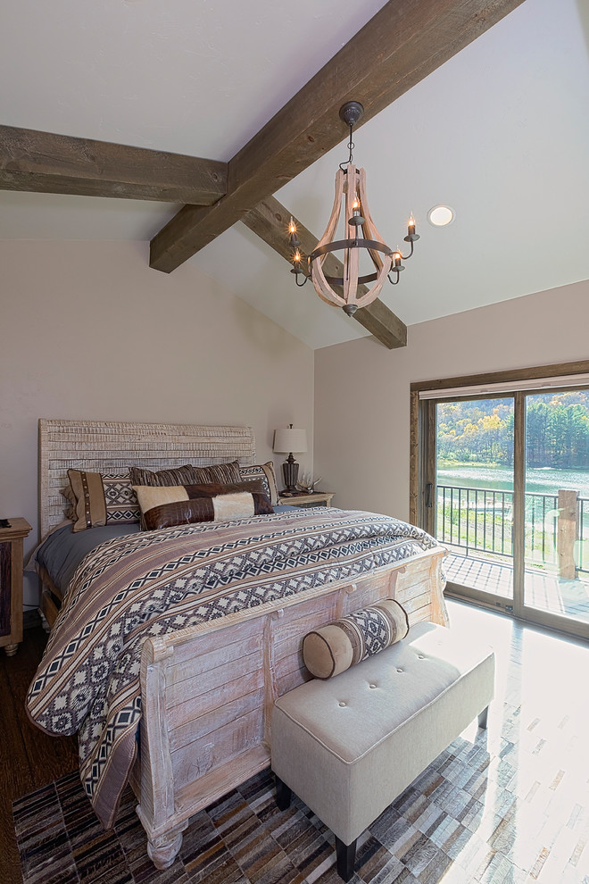 Rustic Bedroom Design Dwellingdecor