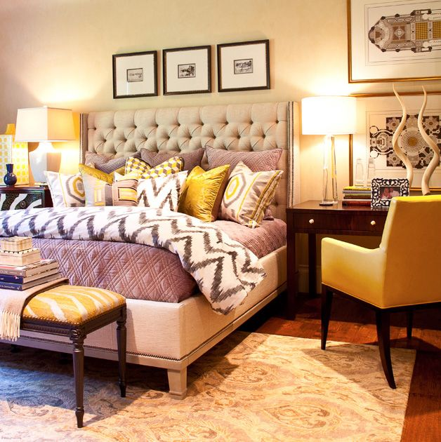 Yellow Master Bedroom Design Dwellingdecor