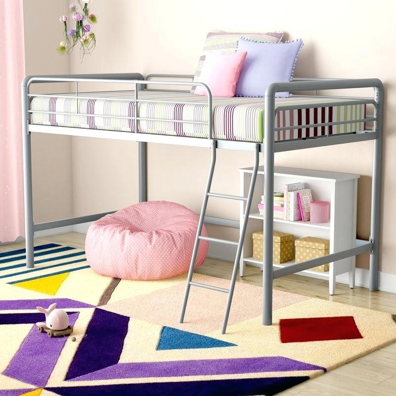 Colorful Twin Low Loft Bed Dwellingdecor