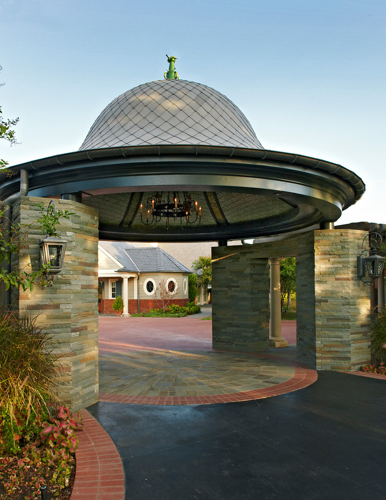 Eclectic Dome Shaped Garage Dwellingdecor