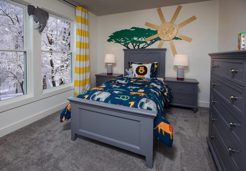 Mid Sized Craftsman Bedroom Dwellingdecor