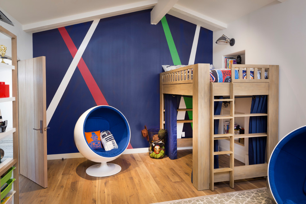 Midcentury Modern Style Bedroom Furniture With Multiple Walls Dwellingdecor