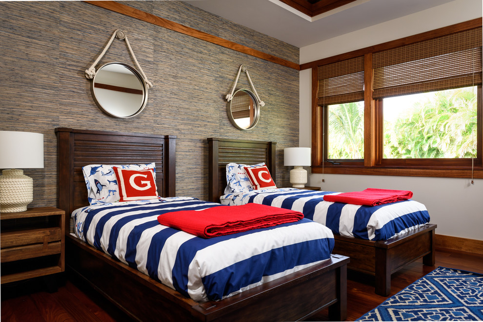 Tropical Beds With Matching Decor Dwellingdecor
