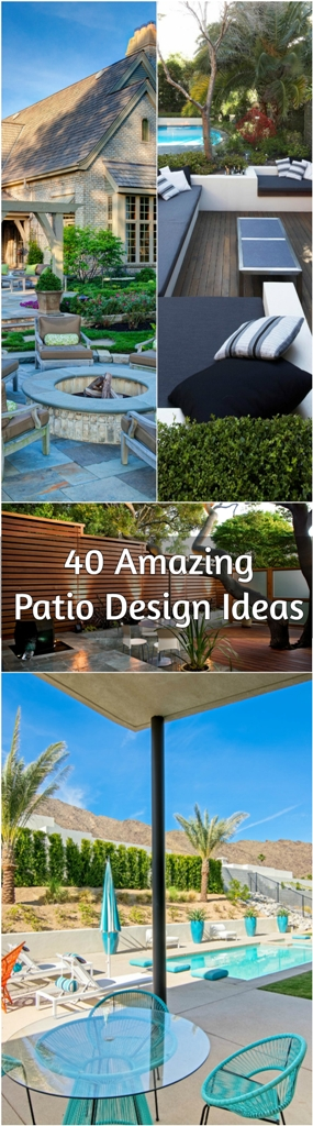 Amazing Patio Design Ideas