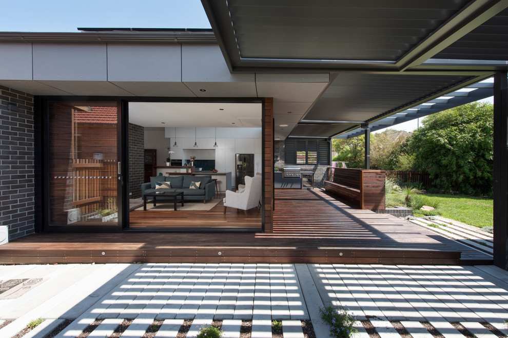 Attached Patio With living Room Dwellingdecor