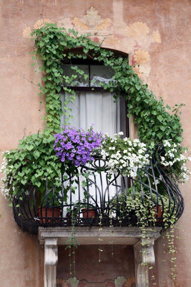 Charming Balcony Garden Dwellingdecor