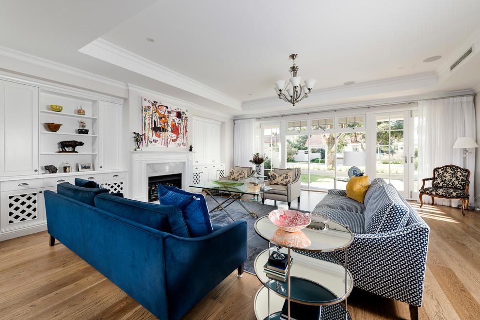 Classic Light Wood Floor Living Room Dwellingdecor