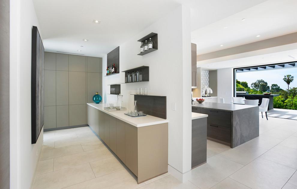 Contemporary House Kitchen dwelligdecor