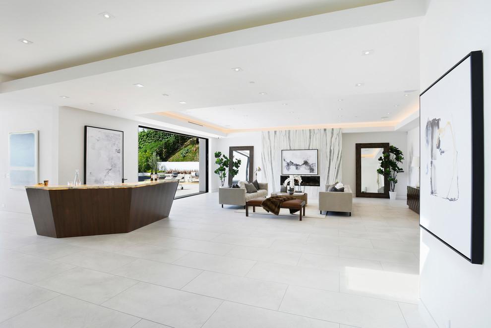 Contemporary House living Room dwelligdecor