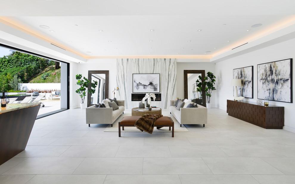 Contemporary House living Room sitting dwelligdecor