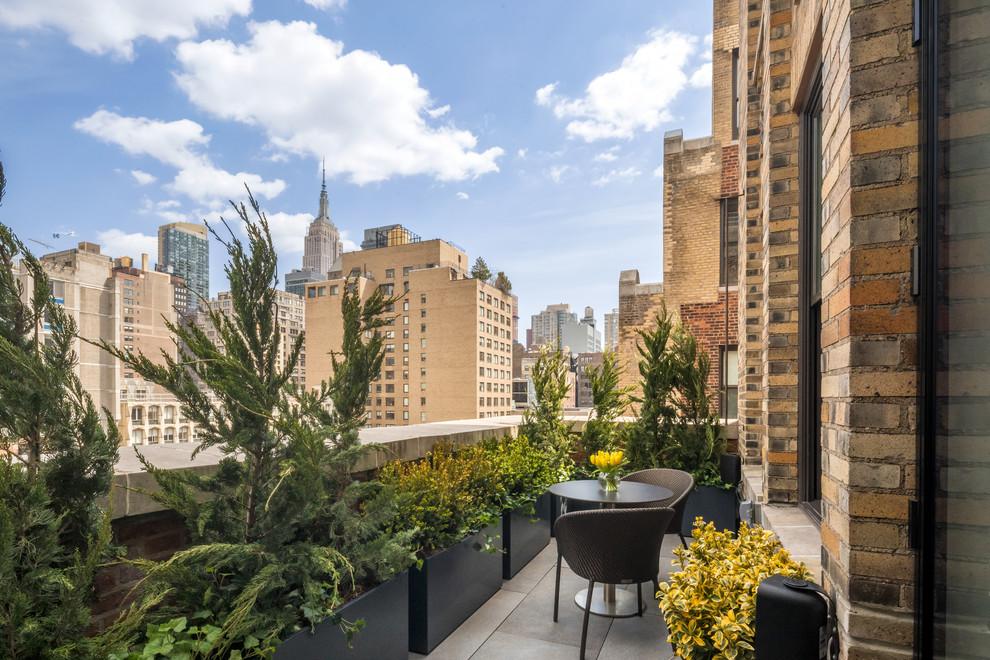 Contemporary Small Balcony Garden Dwellingdecor
