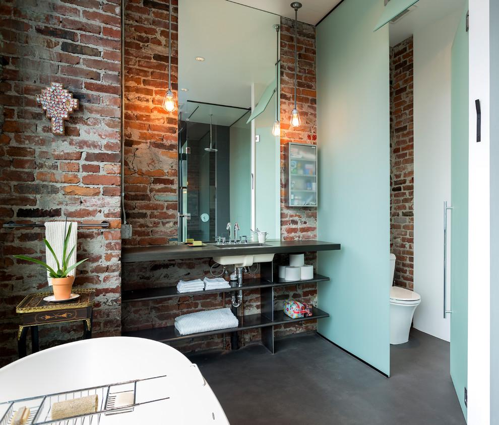Industrial Style Bathroom Lighting Ideas Dwellingdecor