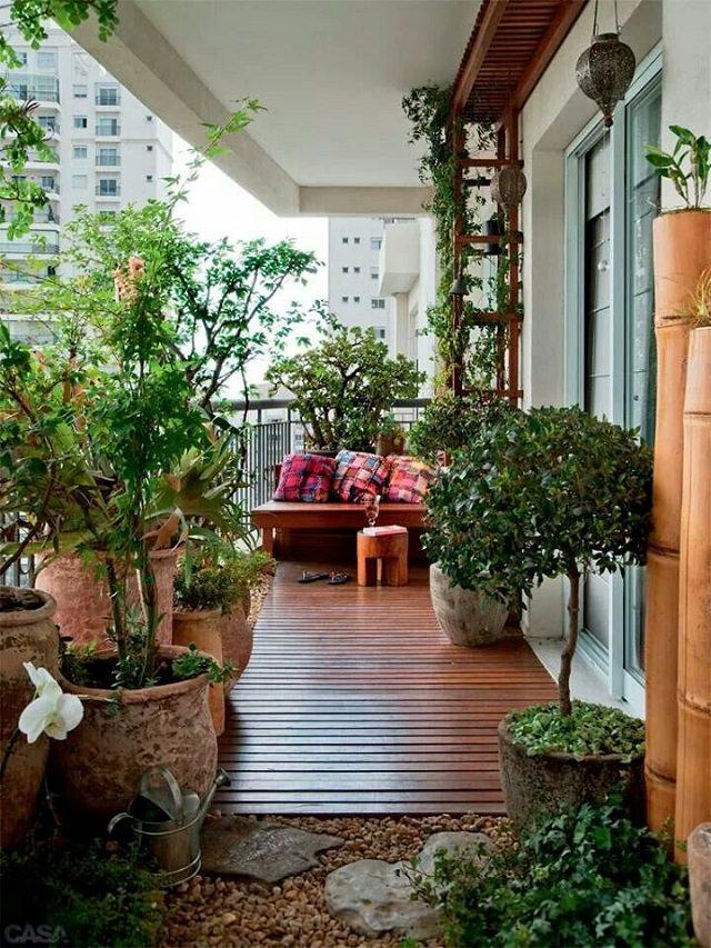 Large Balcony Garden Dwellingdecor
