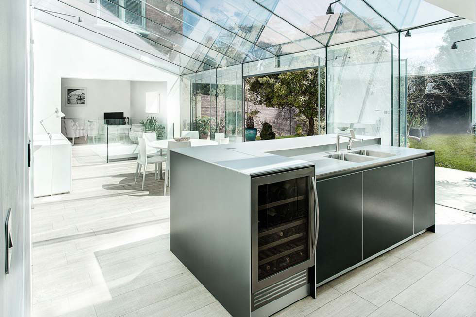 Open Plan Kitchen Island Cabinets Dwellingdecor