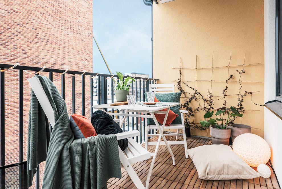 Scandinavian Balcony Container Garden Dwellingdecor