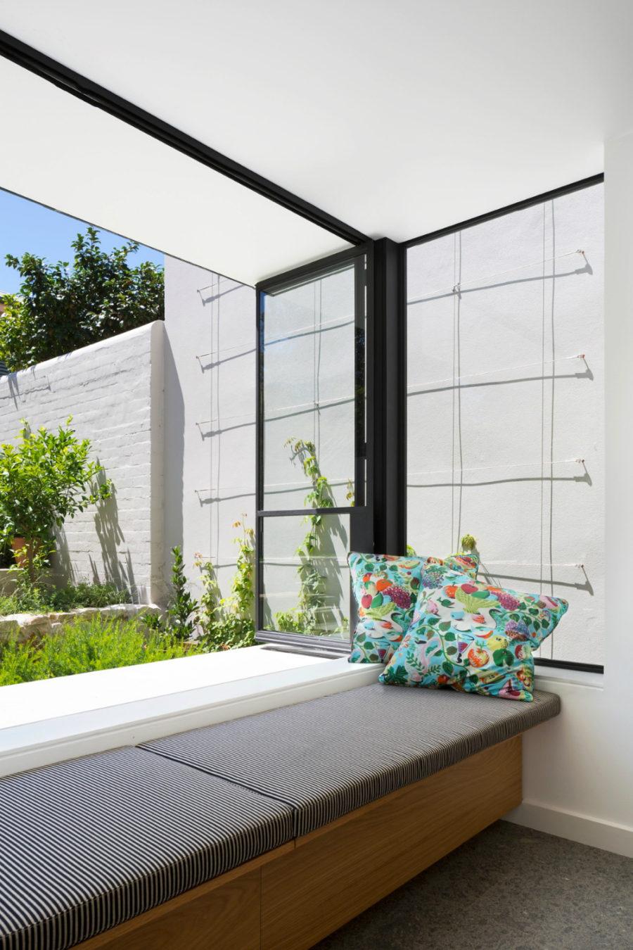 Upholstered Window Seat Dwellingdecor