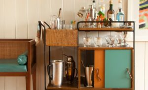 35 Inspiring Bar Carts Design Ideas
