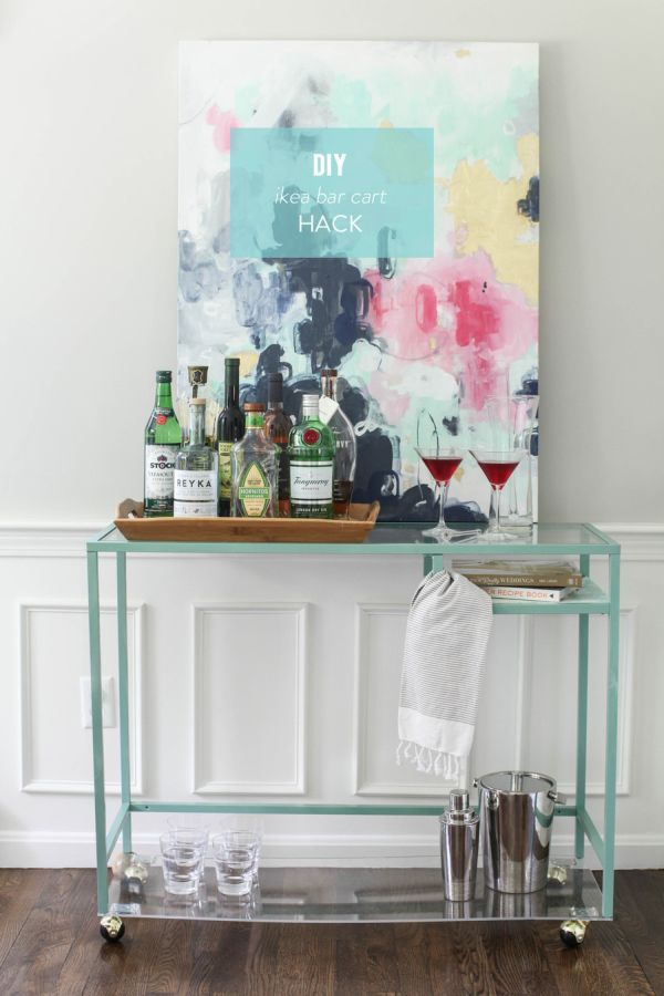Bar Cart Designs Ideas (15)