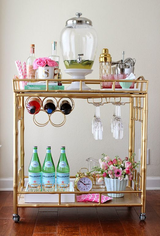 Bar Cart Designs Ideas (17)