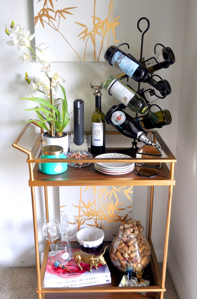 Bar Cart Designs Ideas (19)