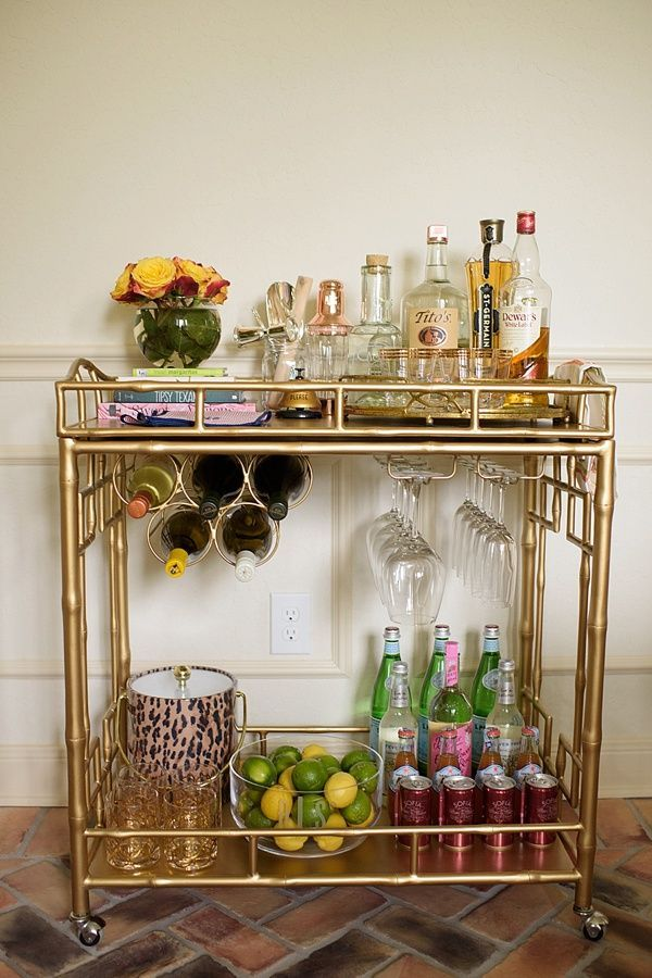 Bar Cart Designs Ideas (20)