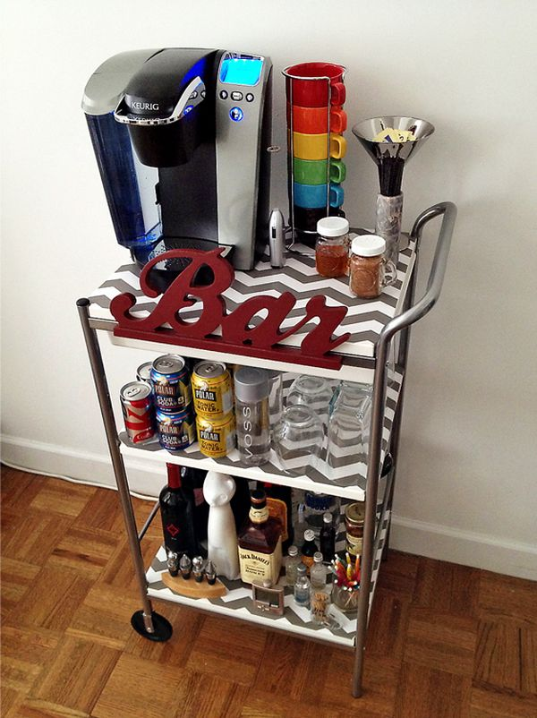 Bar Cart Designs Ideas (21)