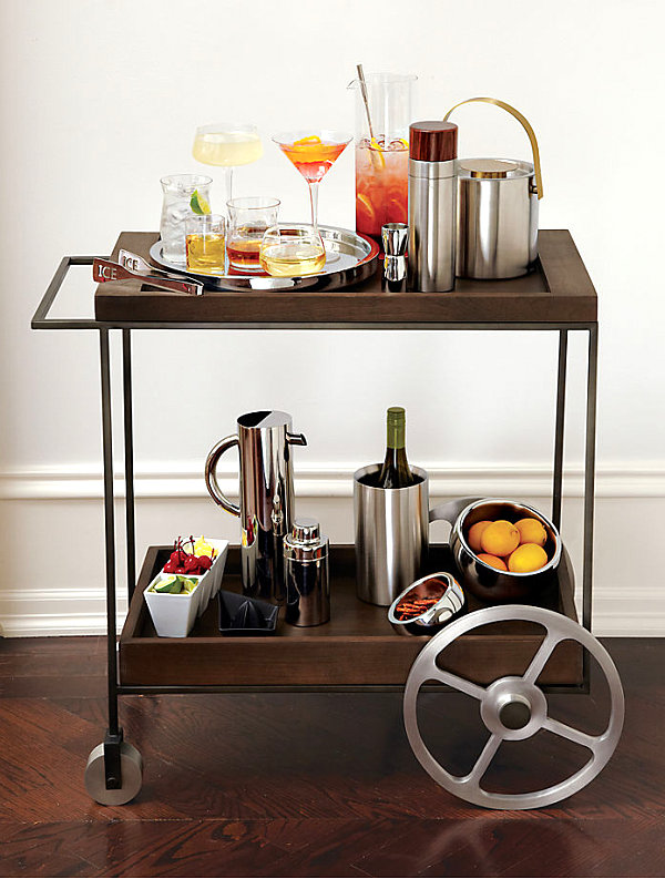 Bar Cart Designs Ideas (22)