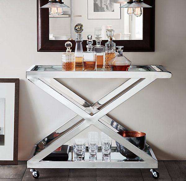 Bar Cart Designs Ideas (24)
