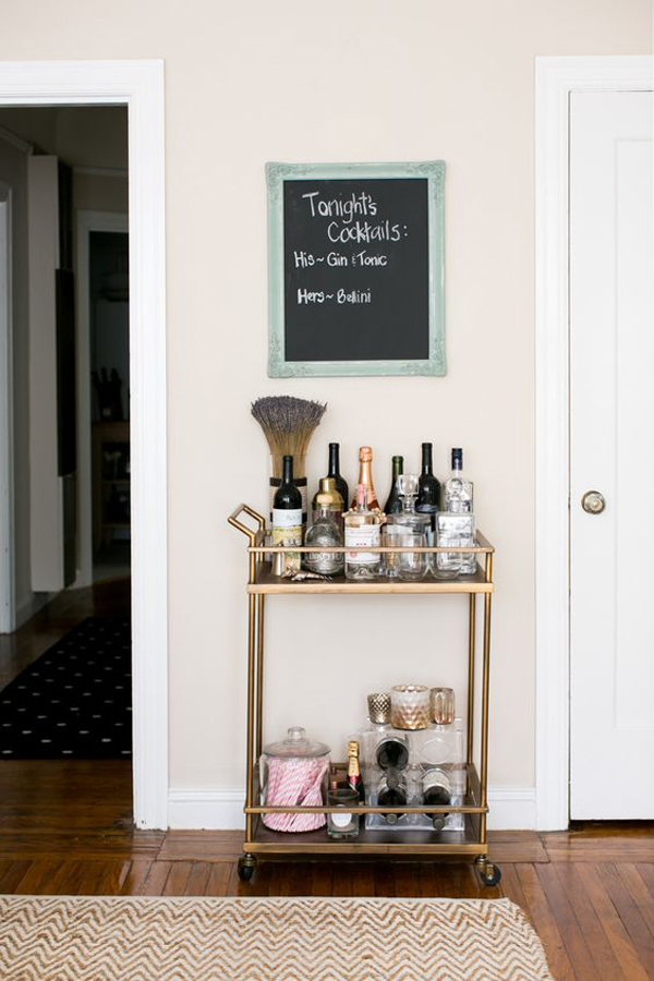 Bar Cart Designs Ideas (29)