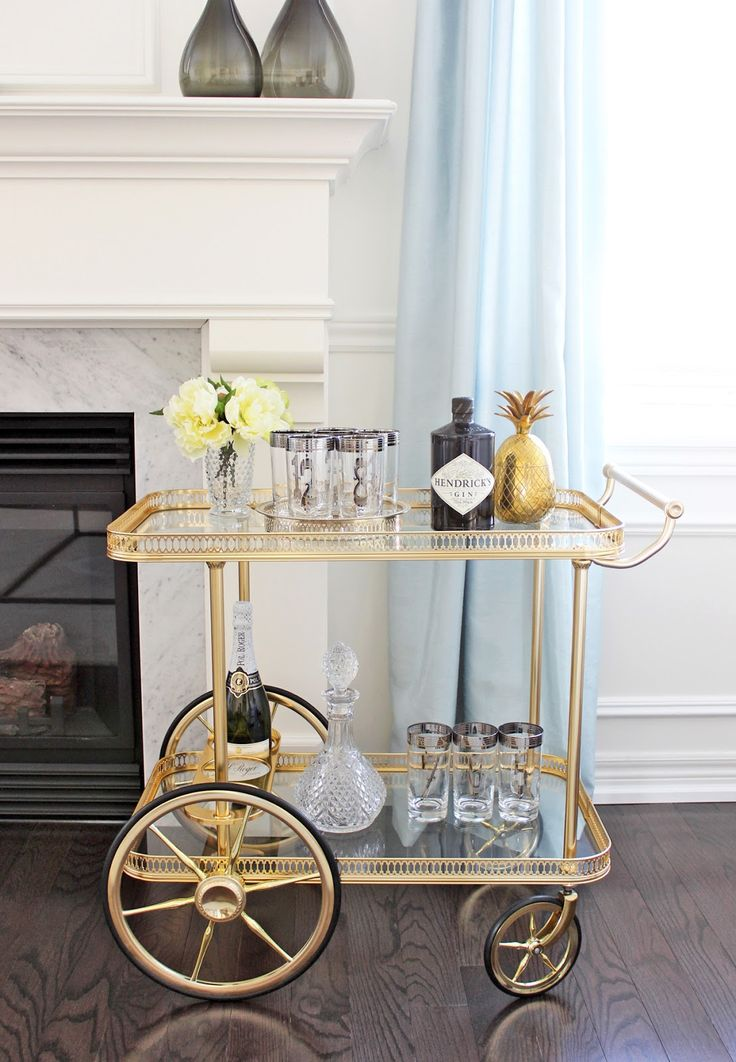 Bar Cart Designs Ideas (31)