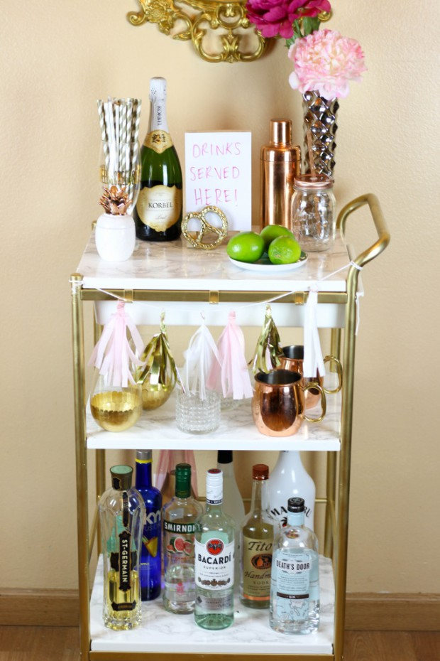 Bar Cart Designs Ideas (4)