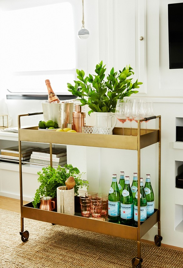 Bar Cart Designs Ideas (5)