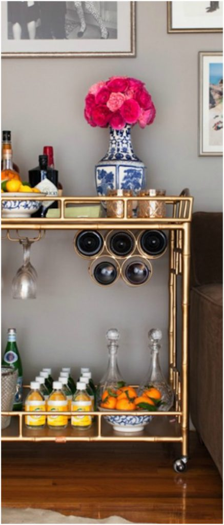 Bar Cart Designs Ideas (8)