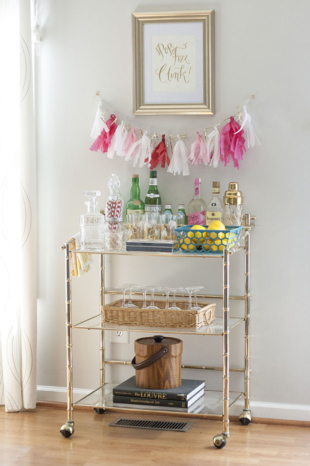 Bar Cart Designs Ideas (9)