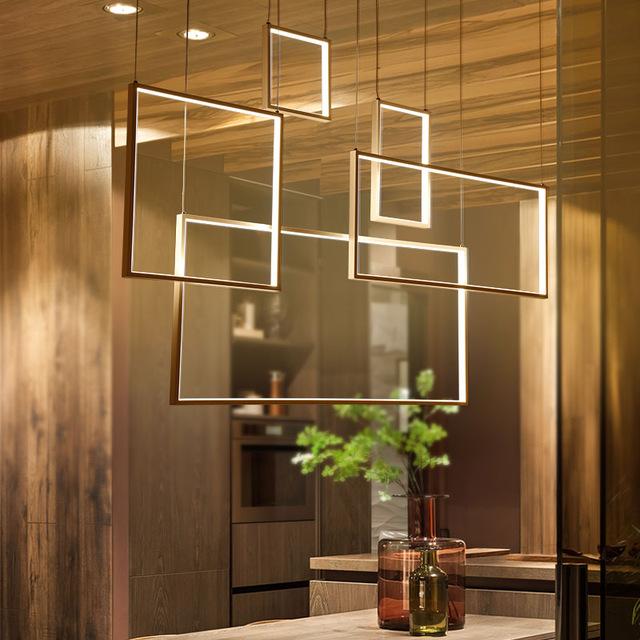 DIY Hanging Modern Led Pendant Lights
