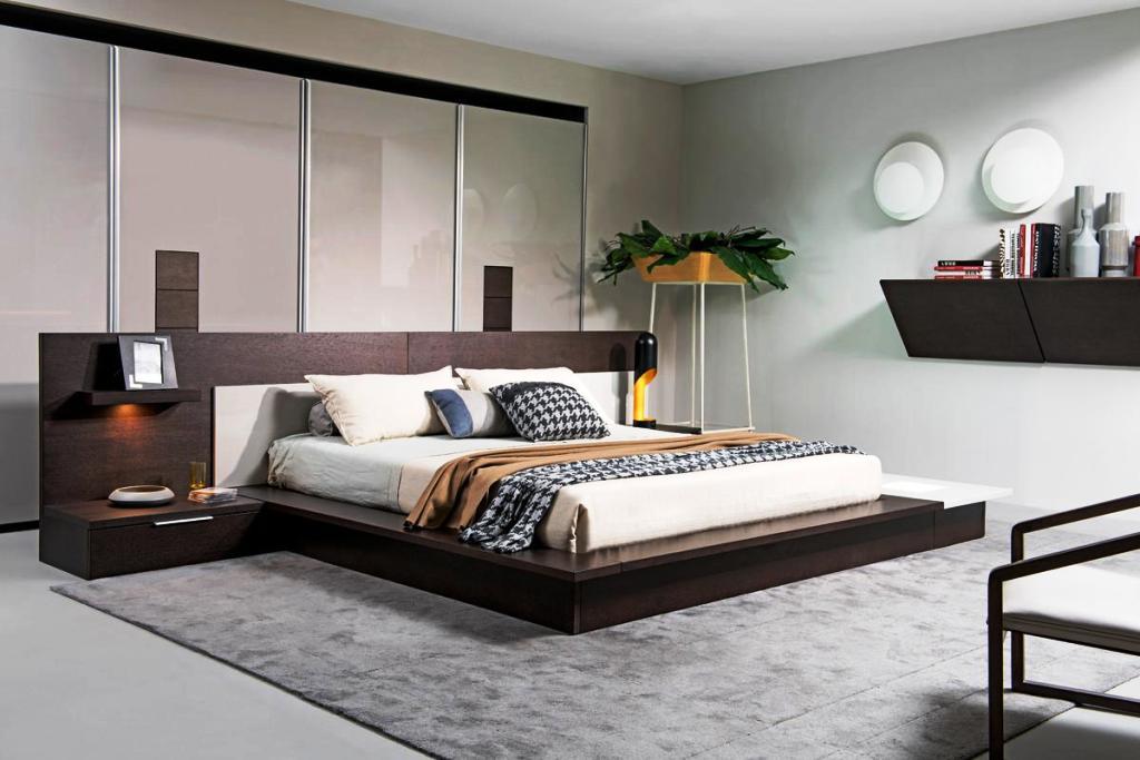 Contemporary Platform Bed (25)