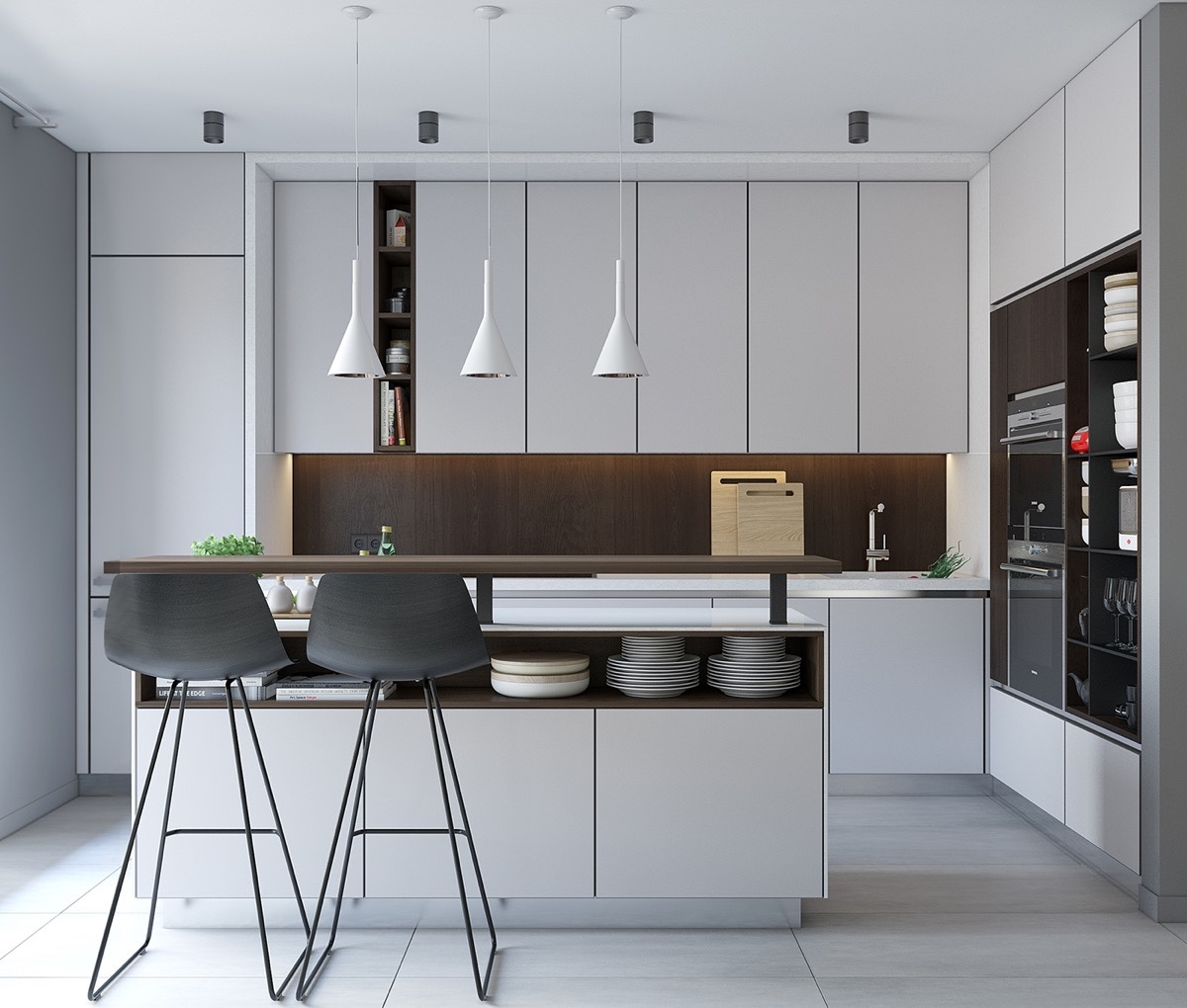 Minimalist Kitchen Design (8)