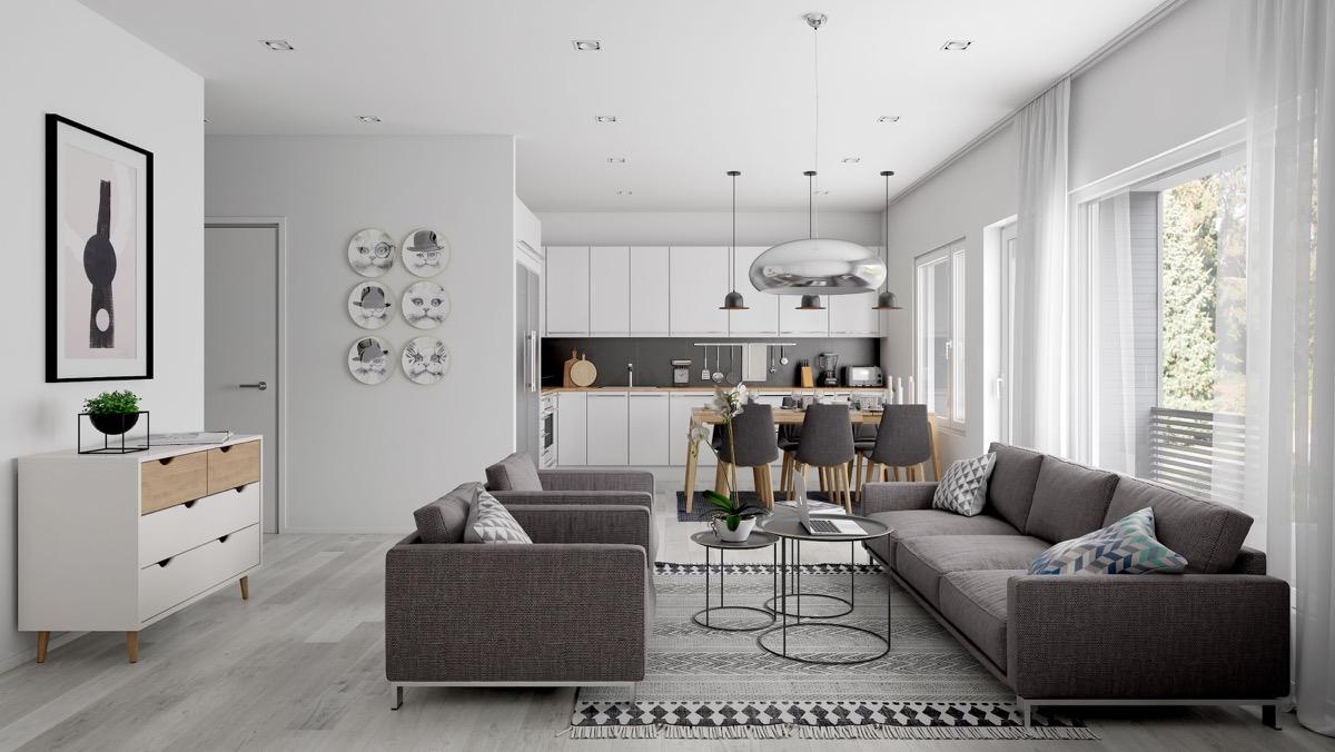 Open Plan Interior Design (12)