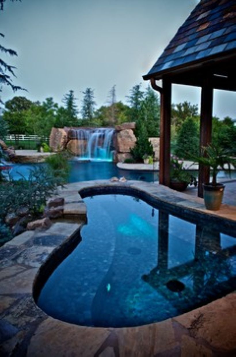 Pool Waterfall Ideas (2)