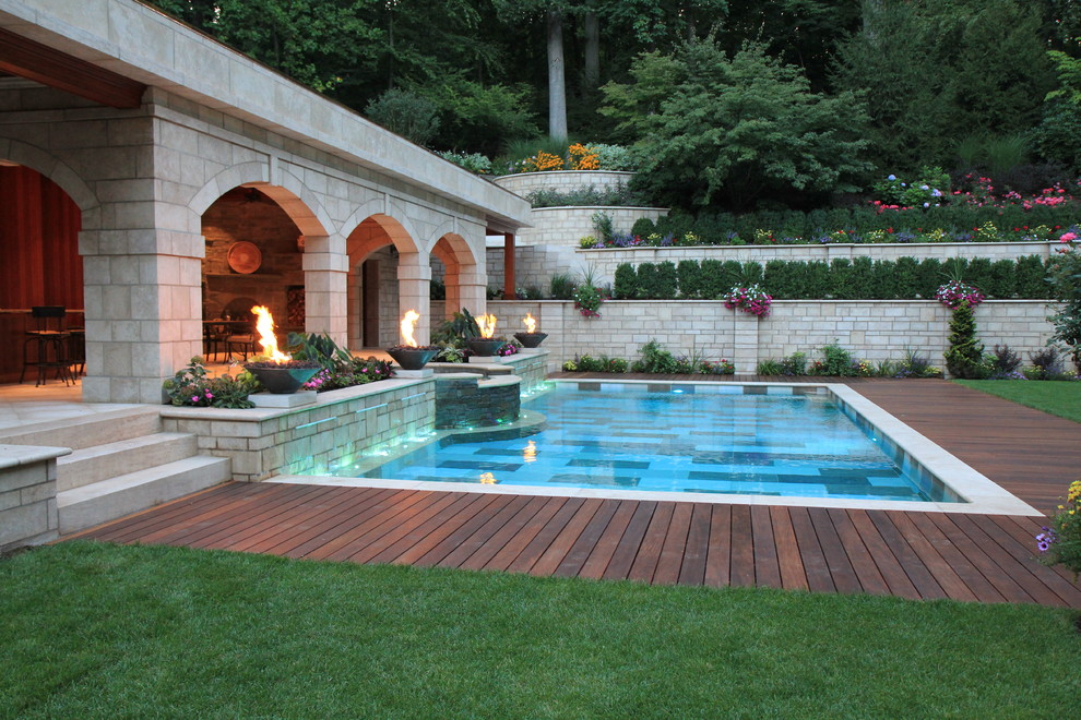 Pool Waterfall Ideas (21)