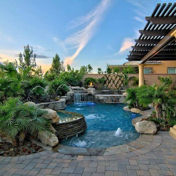 Pool Waterfall Ideas (29)