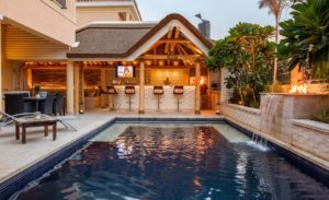 40 Amazing Pool Waterfall Ideas For Your Inspiration