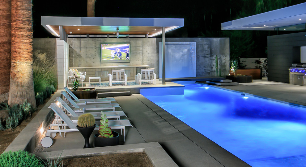 Pool Waterfall Ideas (8)