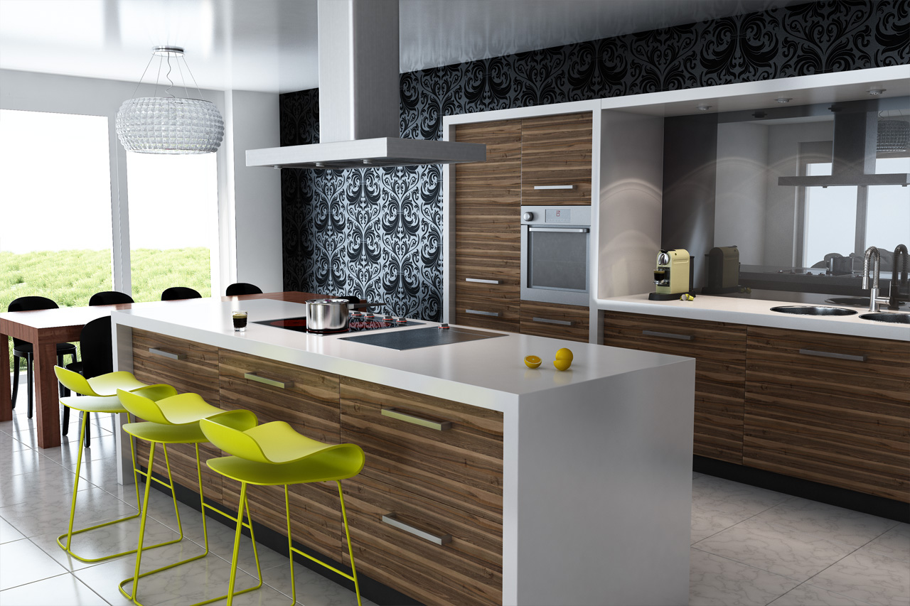 Modern Kitchen Cabinets (3)