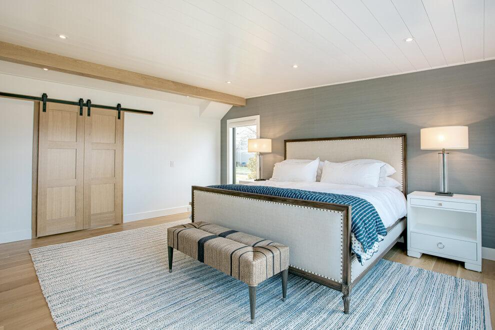 brown floor bedroom